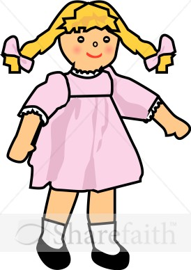 274x388 Baby Girl Doll Religious Baby Clipart