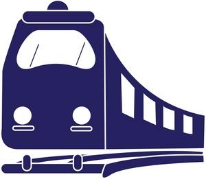300x261 Express Train Clipart