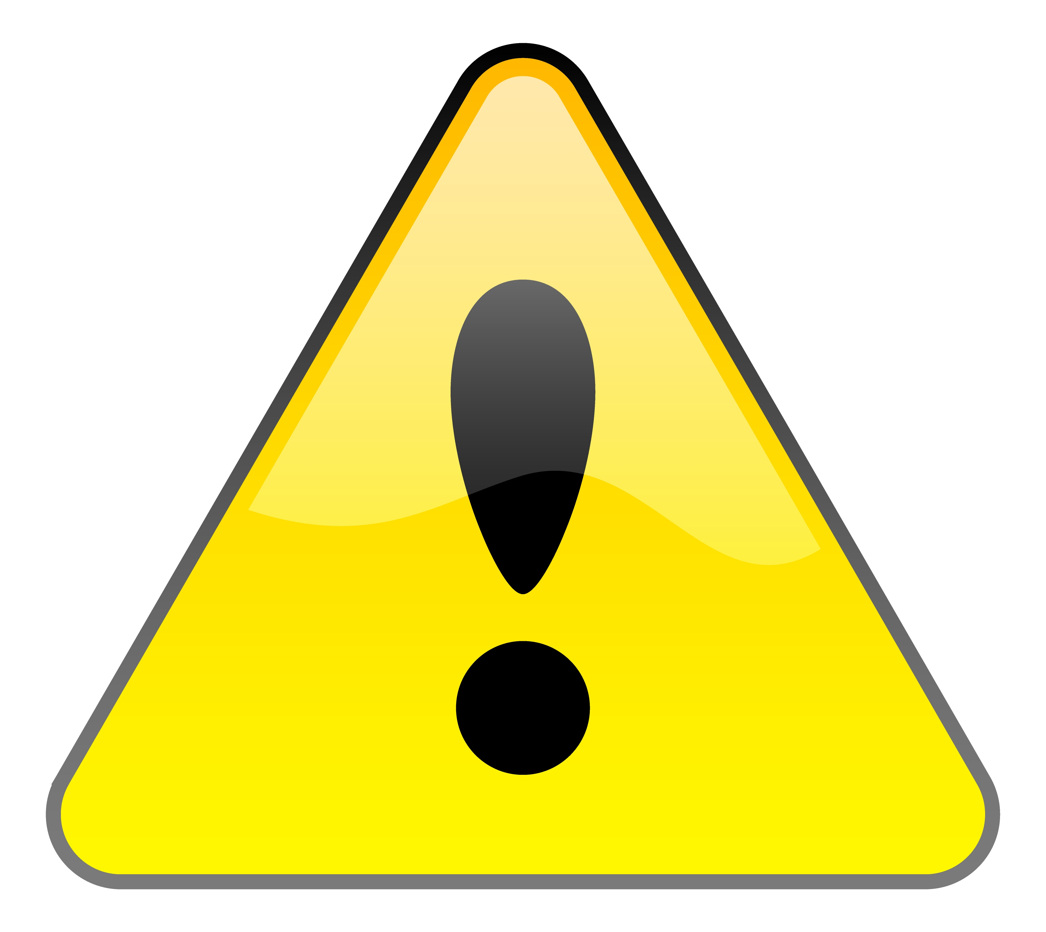 3366x3000 Image Of Caution Clipart
