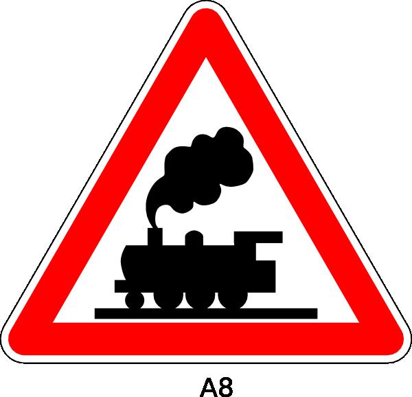 600x578 Peaceful Design Railroad Clipart Crossing Ahead Sign Free Clip Art