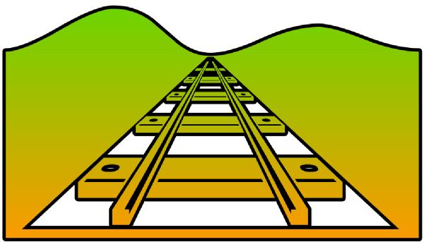 600x343 Railroad Cutout Clip Art