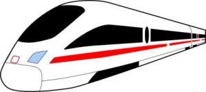 300x135 Railroad Tracks Clip Art Download