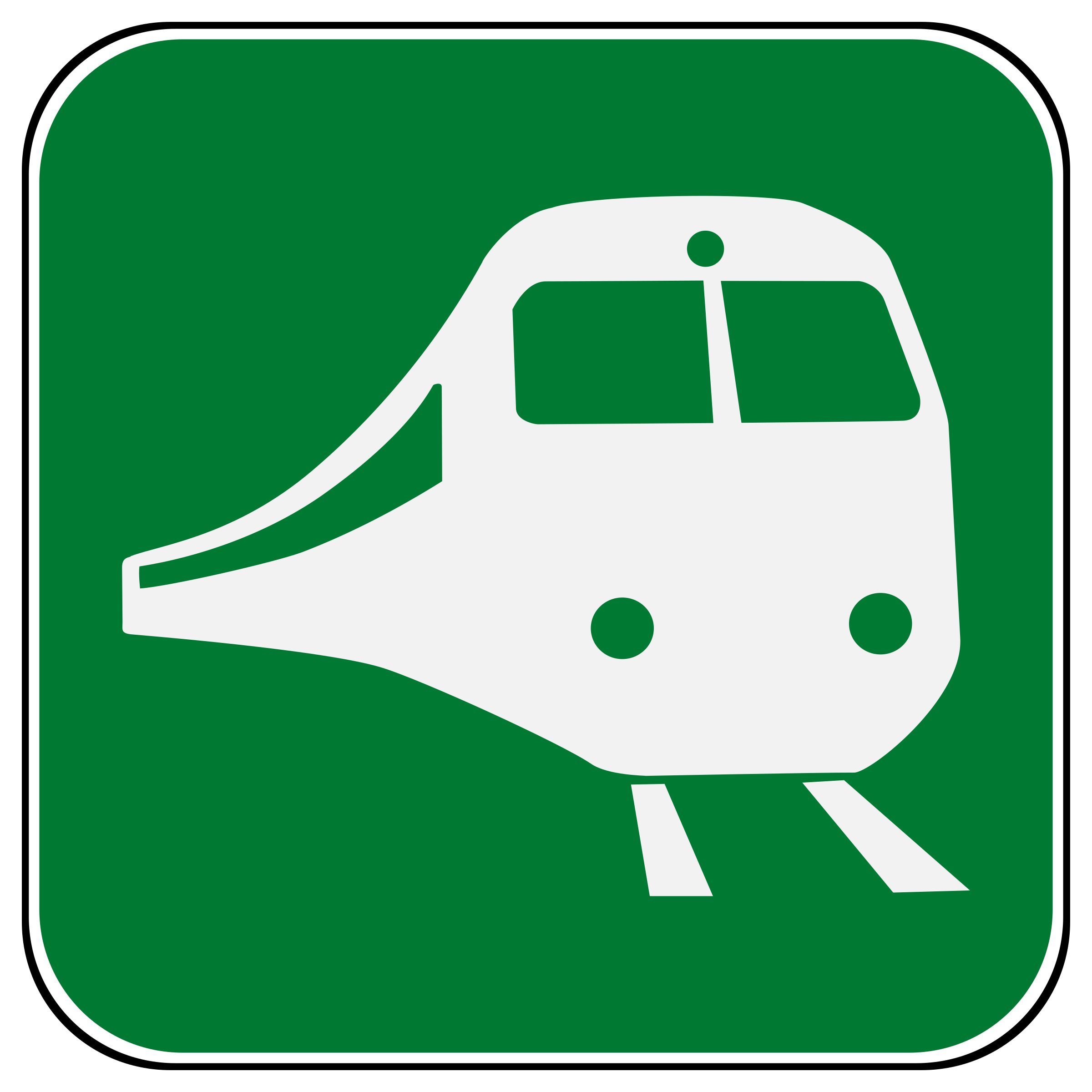 2400x2400 Railroad Station Icons Png
