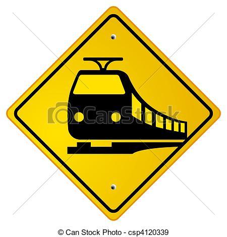 450x470 Railroad Traffic Road Sign Eps Vectors