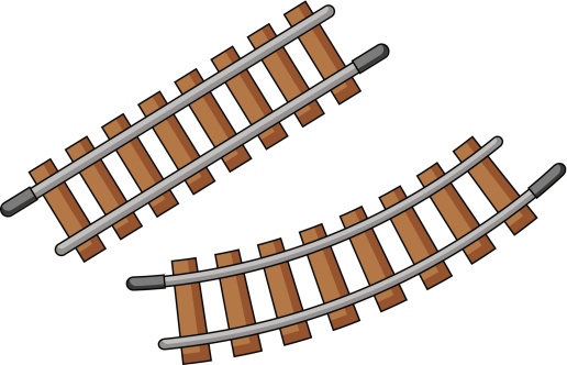 516x332 Clip Art Trains And Tracks Clipart Collection