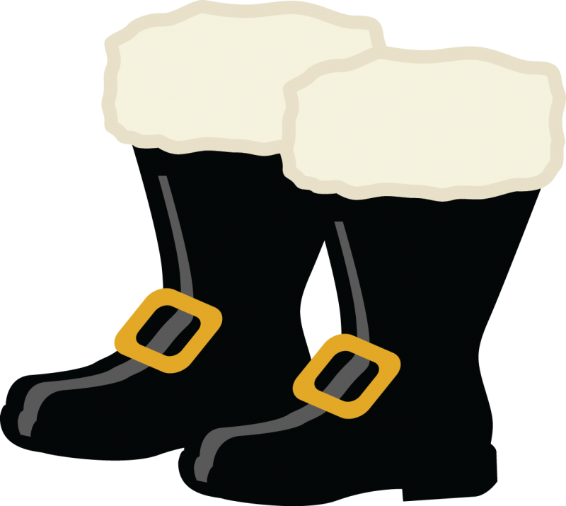 800x715 Clipart Boots