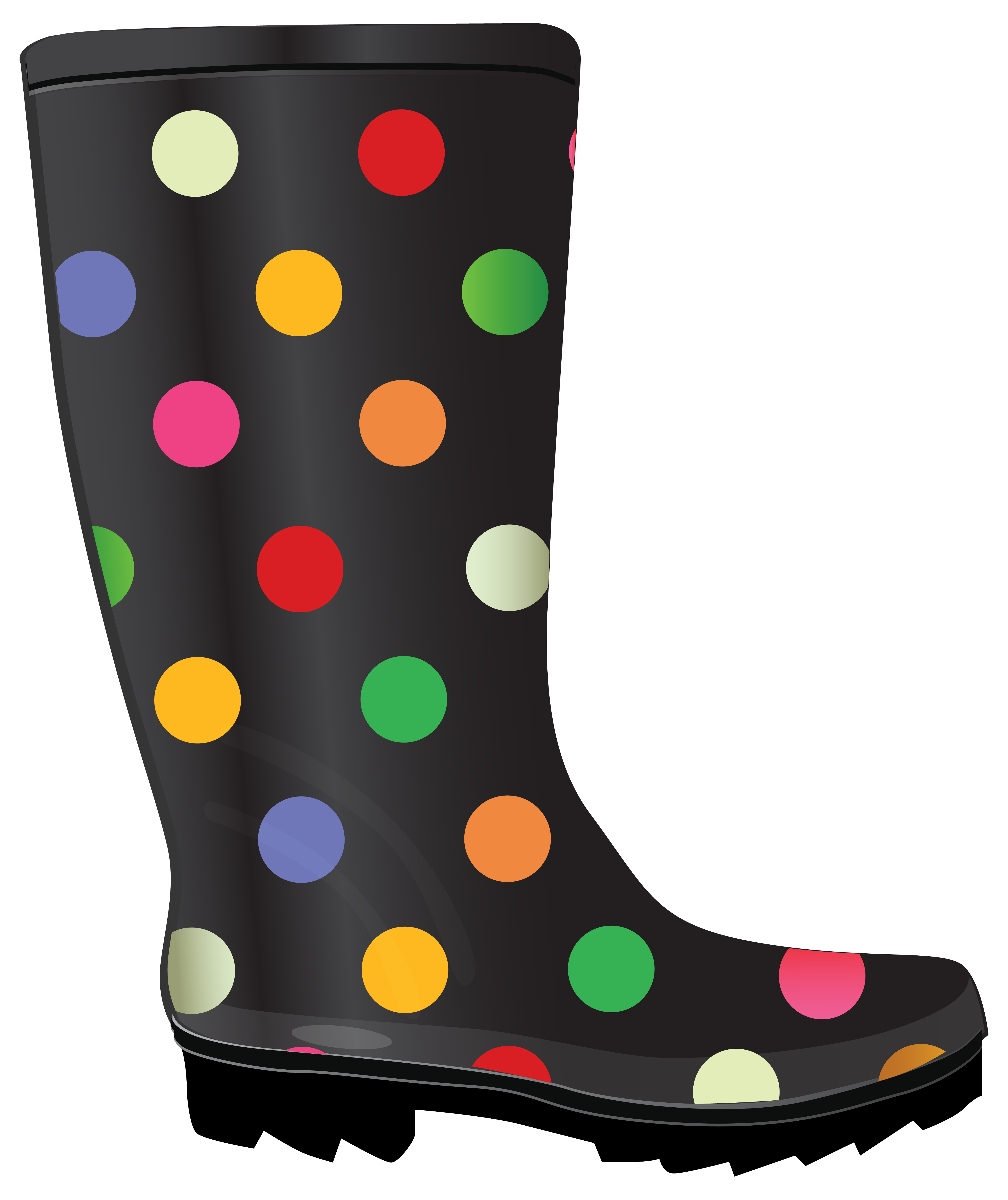 4482x5338 Dotted Rubber Boots. Rain Boots And Rubber Products