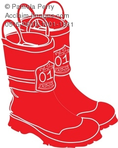 239x300 Pair Of Fireman's Boots Royalty Free Clip Art Picture