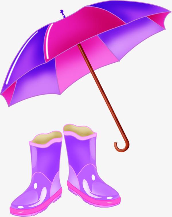 600x755 Rain Rain Gear, Umbrella, Rain Boots, Purple Png Image And Clipart