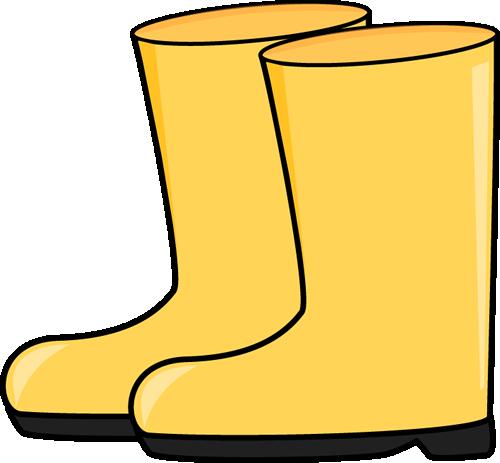 500x463 Rain Boots. Weather Clip Art