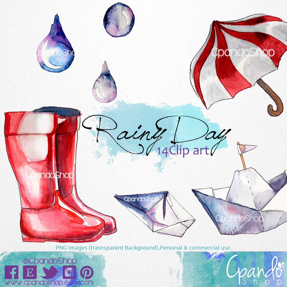 944x944 Rainy Day, Paper Boats, Rain, Rain Boots (14 Png Images