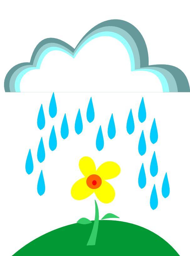 Rain Drop Clipart