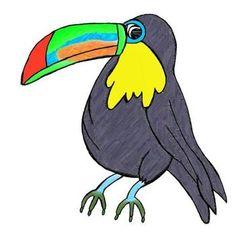 236x233 Chalk Rainforest Animals Art Video Rainforest Animals, Deep