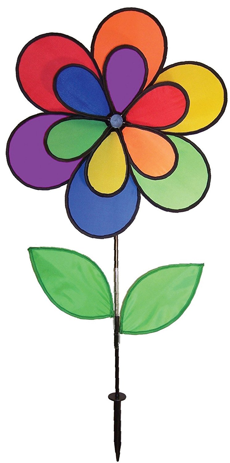 746x1500 Bright Clipart Rainbow Flower