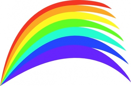 425x279 Free Download Of Rainbow Clip Art Vector Graphic