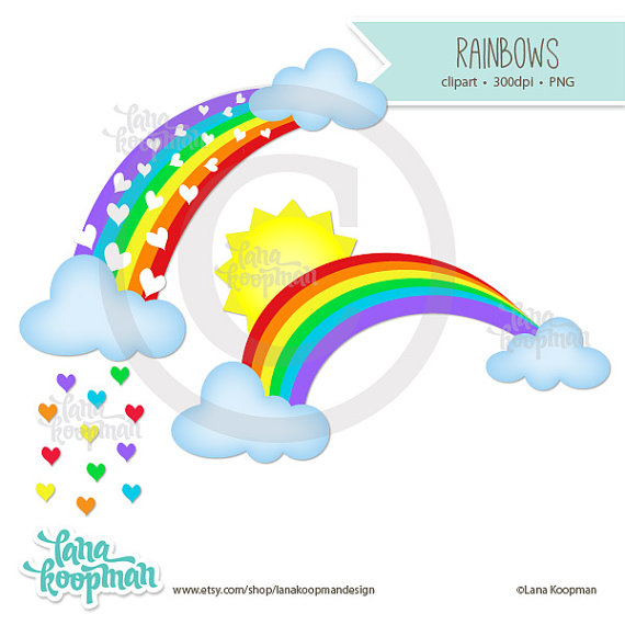 570x570 Rainbow Clipart Sun, Explore Pictures