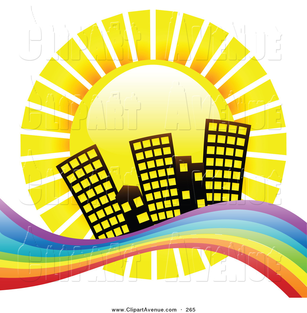 1024x1044 Avenue Clipart Of A Yellow Summer Sun Shinging Down Hotel