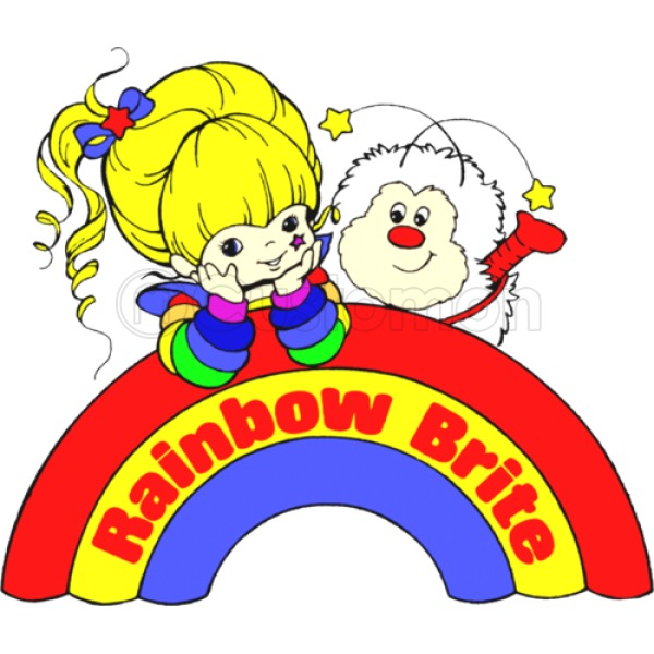 600x600 Rainbow Brite Apron