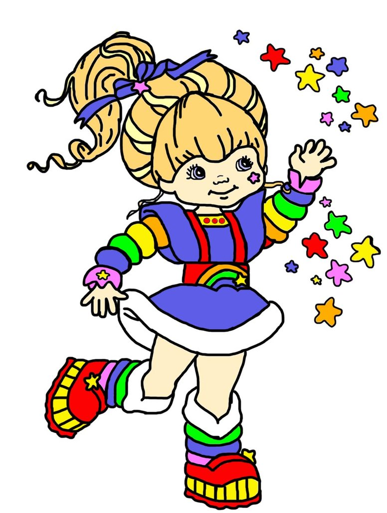 776x1028 Rainbow Brite Edit By Comprimido