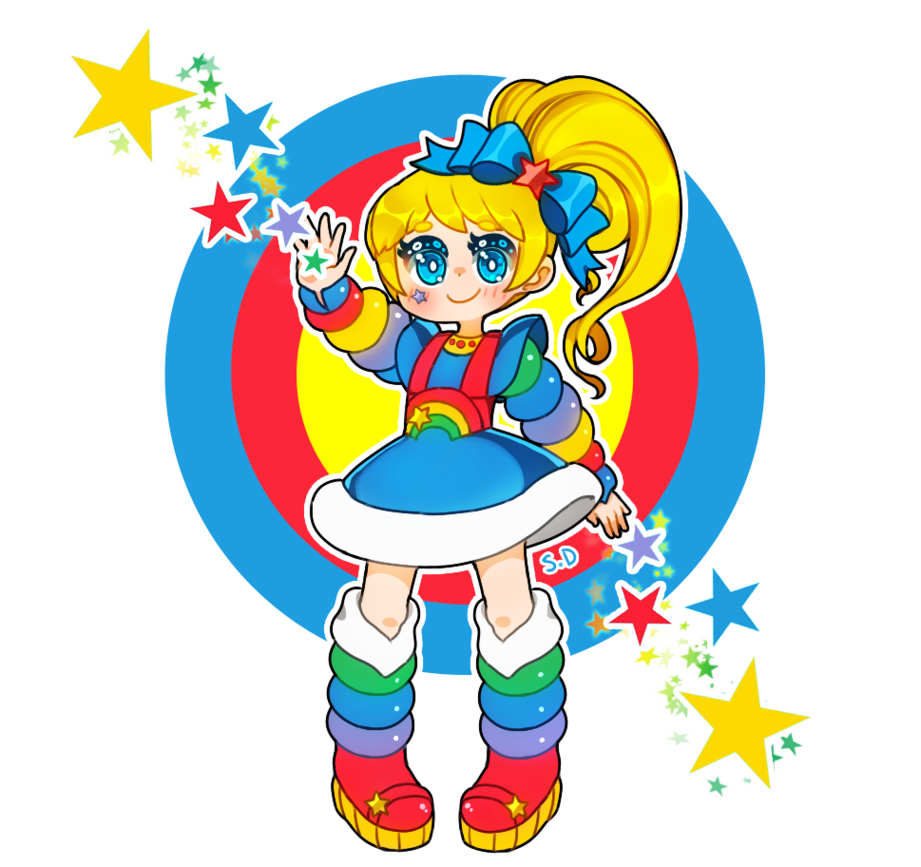 921x867 Rainbow Brite By Vocaloid Mirai