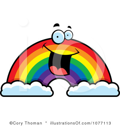 400x420 Collection Of Happy Rainbow Clipart High Quality, Free