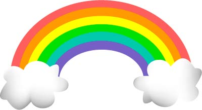 400x217 Rainbow Clip Art Graphic Clipart Panda