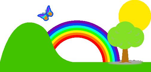 504x240 Rainbow Images Clip Art Rainbow Clip Art Clipart Panda Free