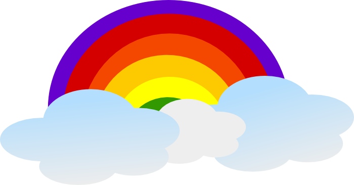 700x366 Free Rainbow Clipart