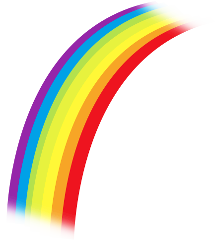 433x488 Luxury Design Rainbow Clipart Free Public Domain Clip Art Images