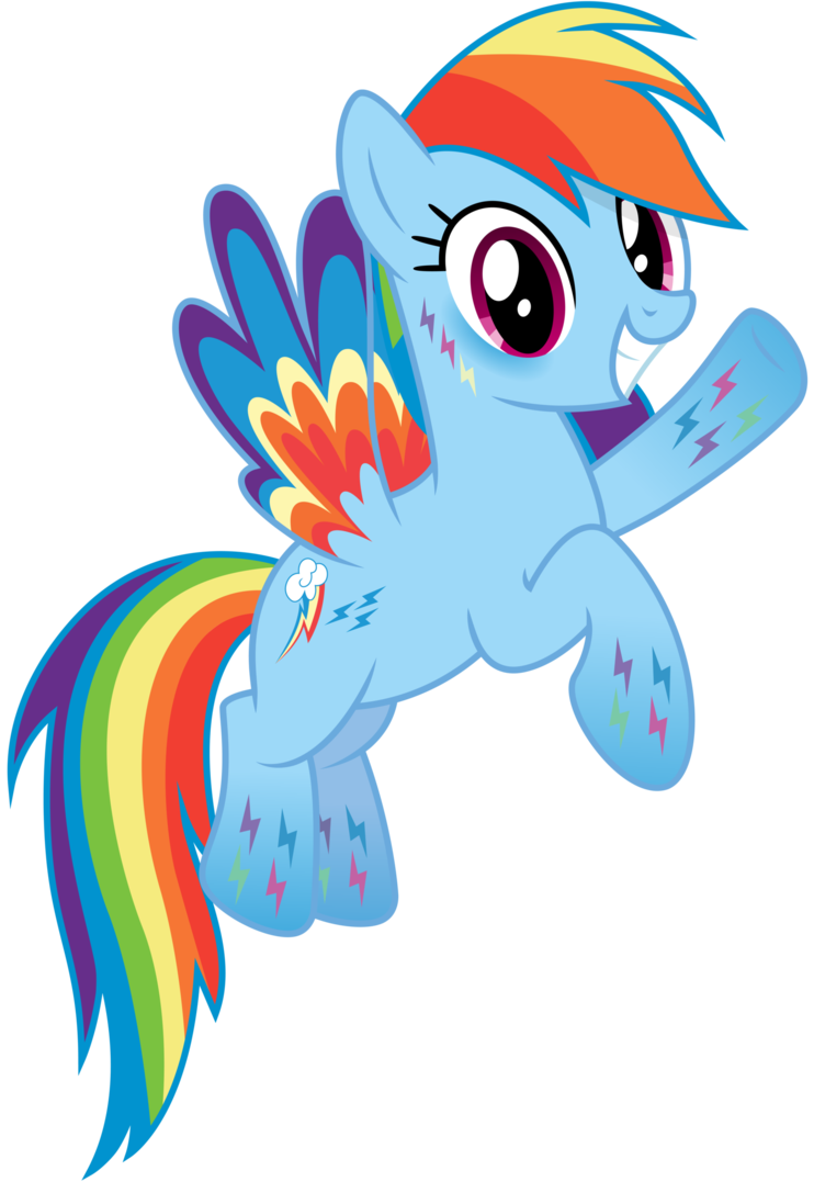 Rainbow Dash Clipart