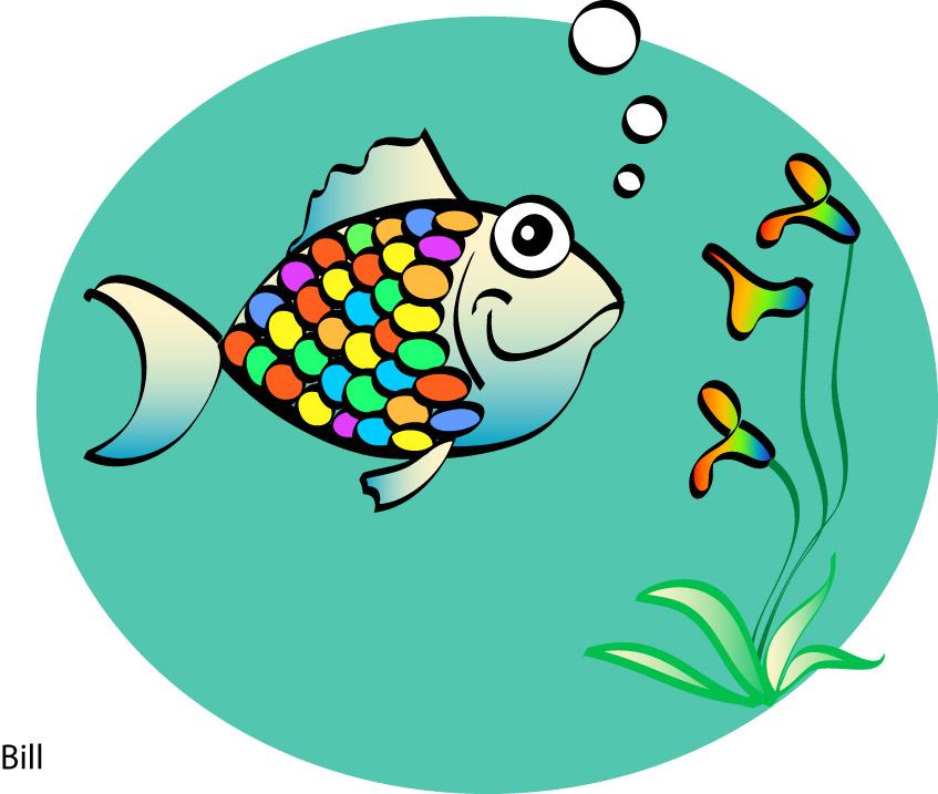 rainbow fish clipart at getdrawings com free for personal use rh getdrawings com rainbow fish clipart images rainbow fish clipart black and white