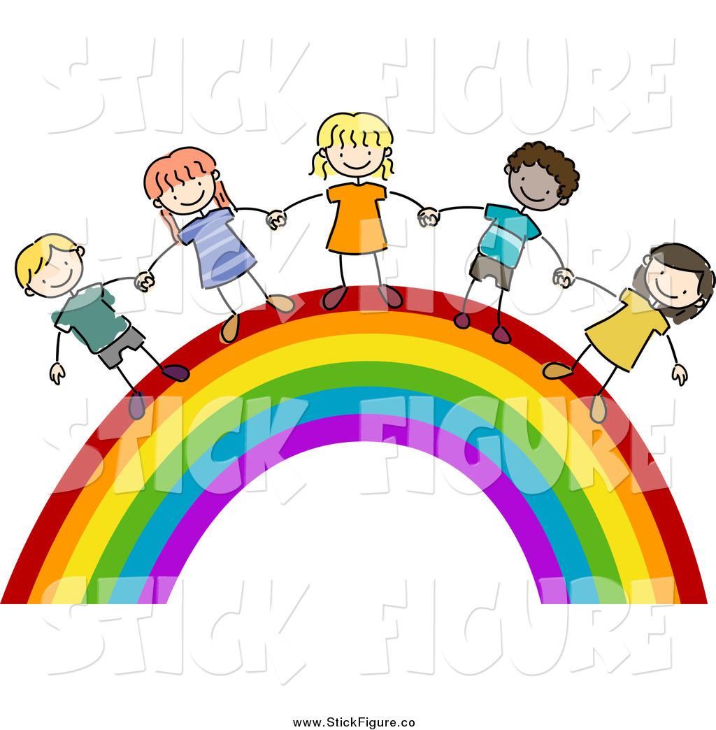 1024x1044 Rainbow Hands Clipart