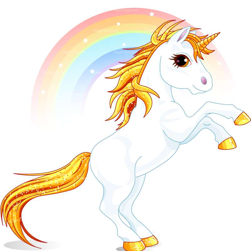 801x801 Collection Of Rainbow And Unicorn Clipart High Quality, Free