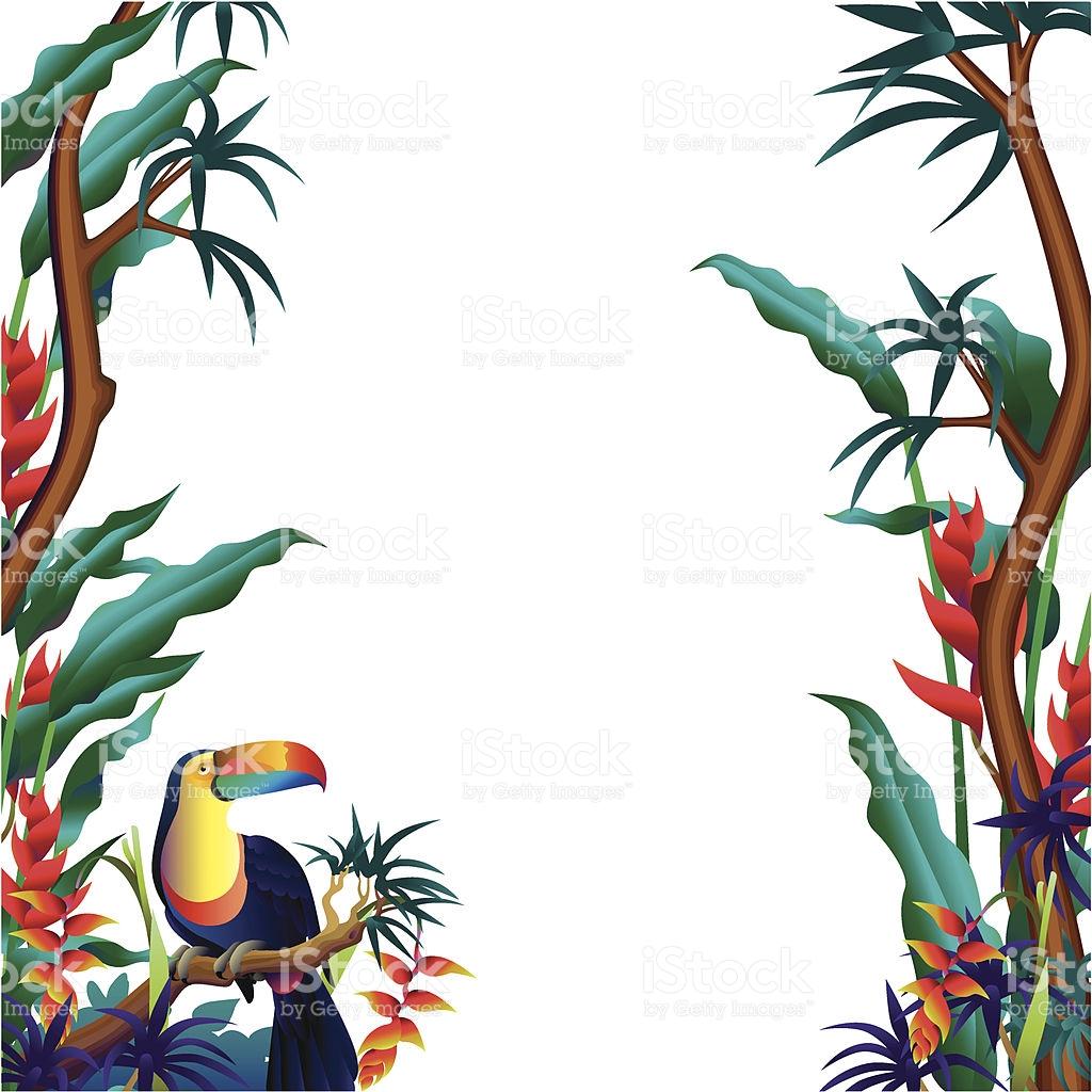 1024x1024 Tropical Clip Art Border Clipart Collection
