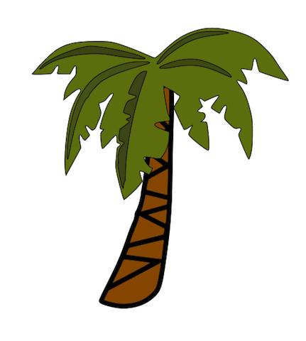 431x480 Jungle Tree Clipart