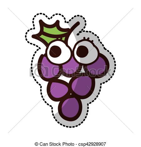 450x470 Comique, Fruit, Raisins, Fruit