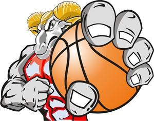 300x236 Collection Of Ram Basketball Clipart High Quality, Free