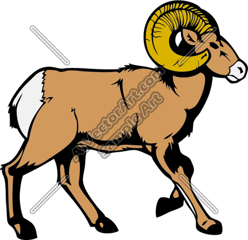 500x484 Ram8 Clipart And Vectorart Sports Mascots
