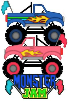 236x347 Monster Trucks Clipart