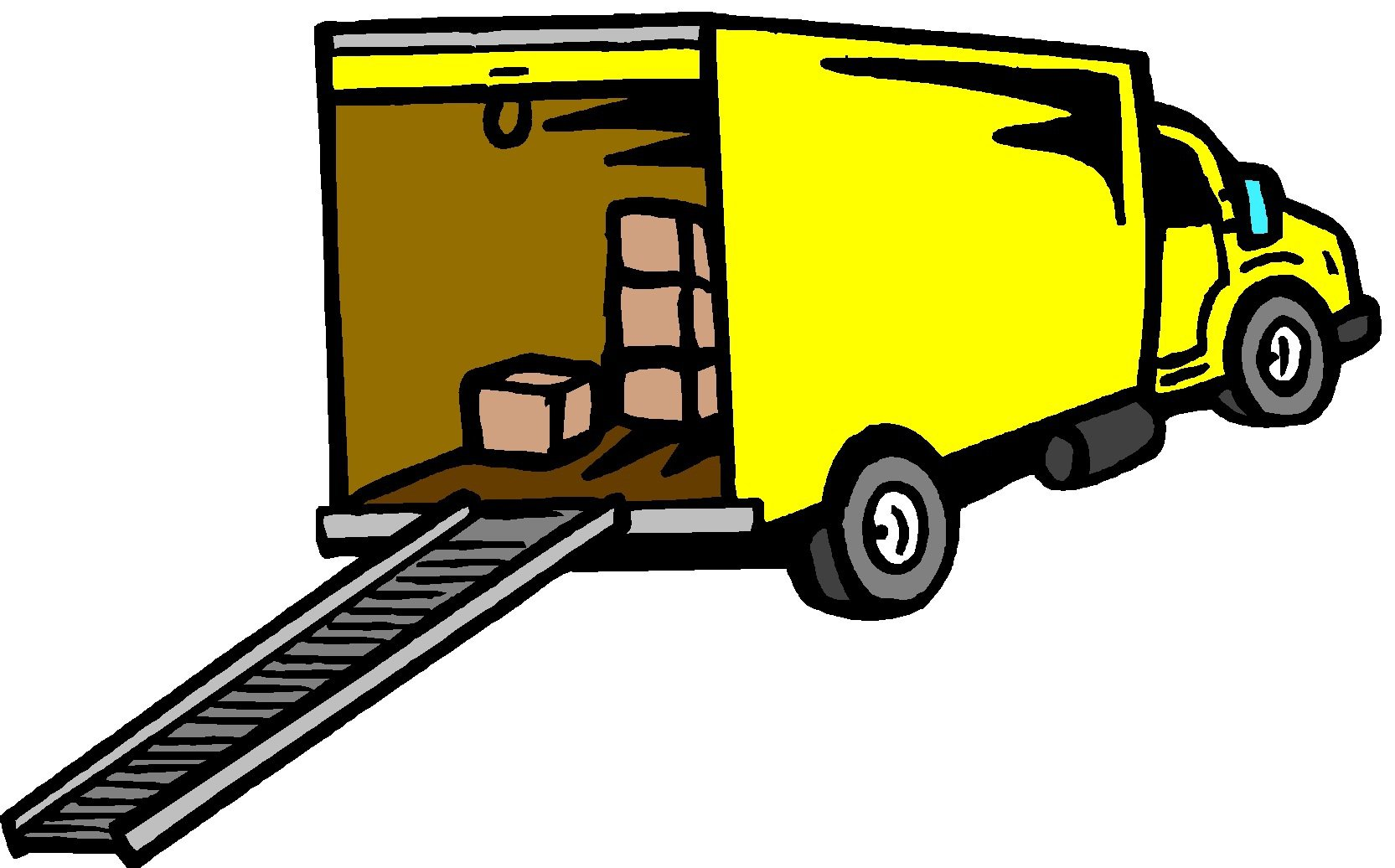 1665x1036 Collection Of We'Re Moving Truck Clipart High Quality, Free