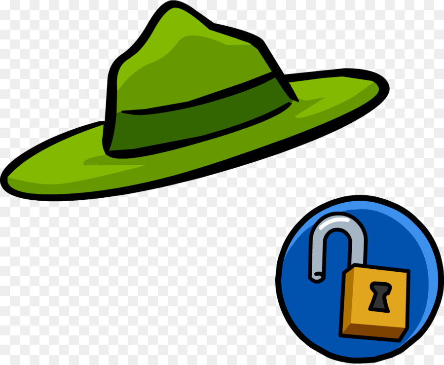 900x740 Club Penguin Park Ranger Hat Clip Art