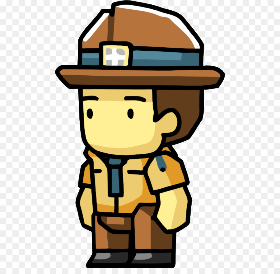 900x880 Park Ranger Cartoon Clip Art