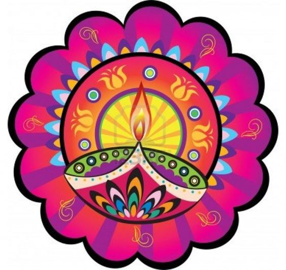 564x531 Collection Of Diwali Clipart Rangoli High Quality, Free