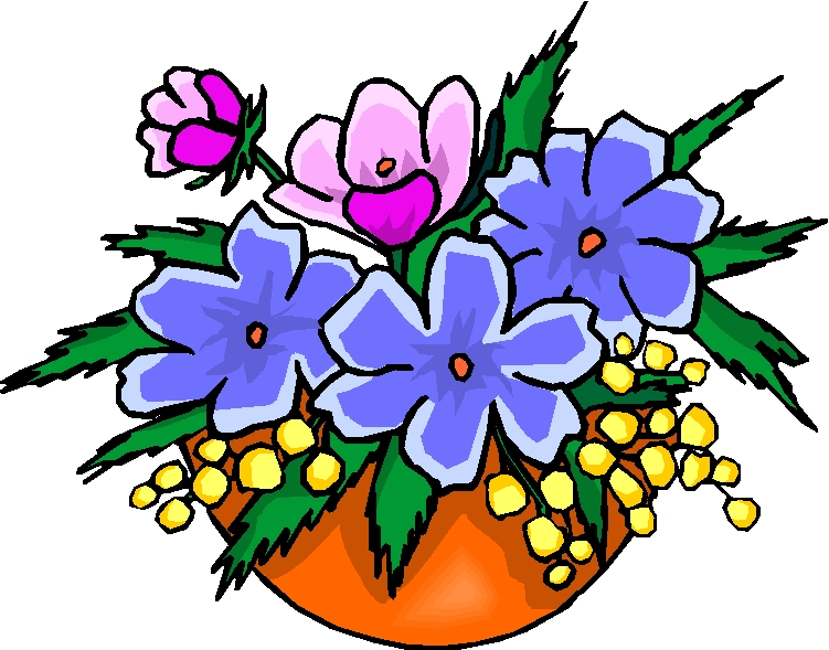 751x589 Bouquet Of Flowers Free Clipart Microsoft