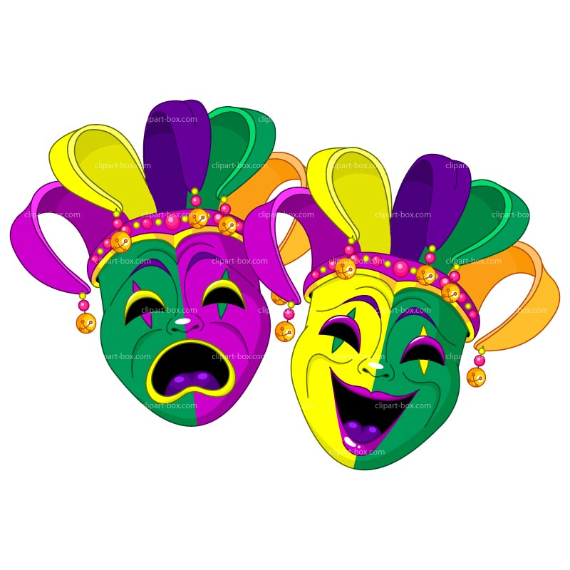 800x800 Carnival Mask Clipart