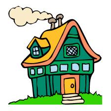 225x225 Free House Clip Art