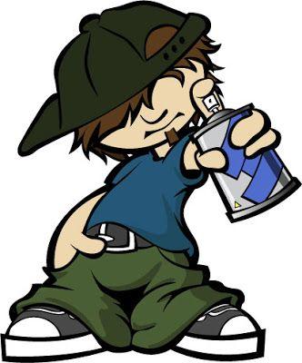 332x400 Cartoon Rapper Hip Hop. Png Graffiti Boy Cartoon Cool Graffiti