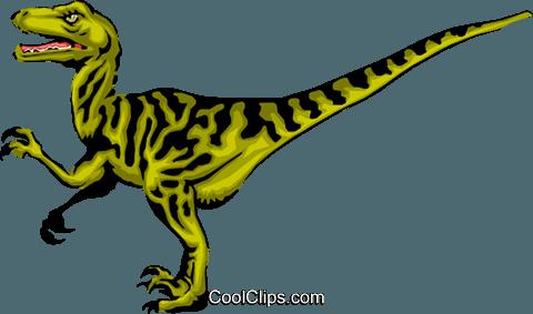 480x283 Raptor Royalty Free Vector Clip Art Illustration Anim0299