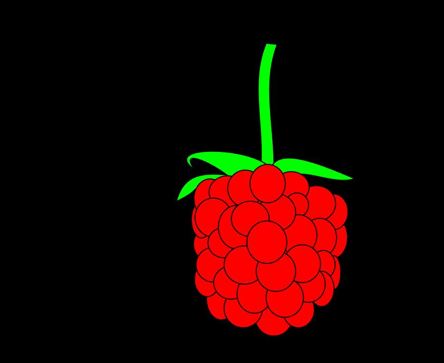 900x736 Raspberries Clip Art 527075