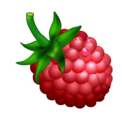 400x400 Raspberry Clipart Two